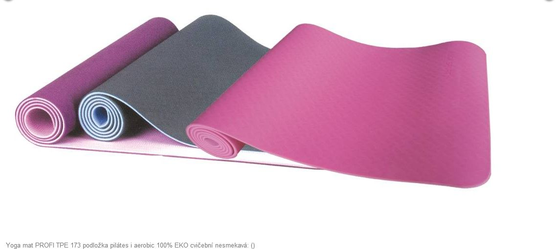 Yoga mat PROFI TPE 173